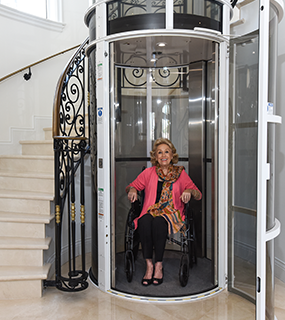 PVE52 Elevators Home Lift By Eltouny Elevators Company In Egypt